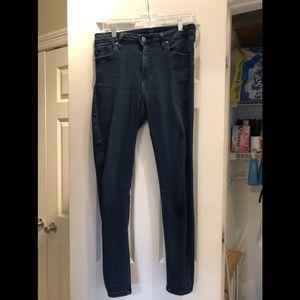 Just Black Jeans - Grace High Rise Super Skinny Jean